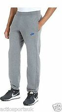 New Nike Mens Fleece Joggers Grey Tracksuit Jogging Bottoms S M L XL  586031 065
