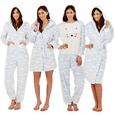 Loungeable Womens Cloud Robe Pyjamas Or Jumpsuit Ladies Luxury Soft Nightwear