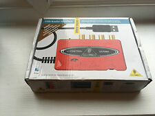 Behringer U-CONTROL UCA222 Ultra-Low Latency 2 In/2 Out USB Audio Interface