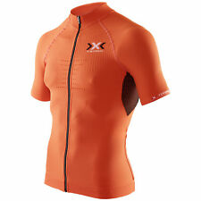 X-Bionic Biking Man The Trick Shirt Full Zip Short Sleeve Fahrradtrikot Herren