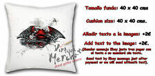 COJIN SUPERMAN VS BATMAN LOGOS FUSION CUSHION coussin ES