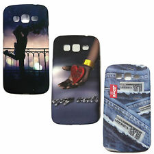 Samsung Galaxy Grand2 G7106,G7102 Cover Case, Printed Rubber Back Case