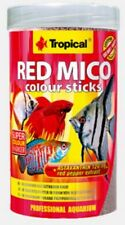TROPICAL RED MICO COLOUR STICKS bloodworm-like extruded food