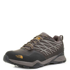 Mens The North Face Hedgehog Hike GTX Morel Brown Yellow Hiking Boots UK Size