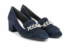 CHANTAL scarpe FRANCESINA 182 CAMOSCIO NAVY AI17