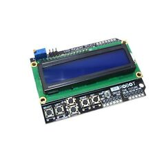 Keypad Shield LCD1602 16x2 Zeichen LCD 1602 Display Modul Blau HD44780 Arduino