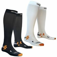 X-Socks Man Bike Energizer Smart Compression Socken Fahrradsocken Herren Biking
