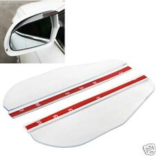 2 PCS Flexible Shelding Rain Board Sun Visor Shade Rearview Mirror for Car