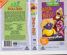 SESAME STREET ~ROCK AND ROLL~  VIDEO PAL VHS