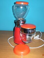 Macinacaffè QUICK MILL Omre Grinder rosso vintage anni 60