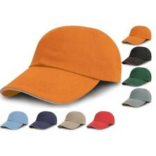 Unisexe Adulte Result 100% Coton Couleur Impression Brodeuses Casquette Baseball