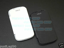 Flip Cover Case Hard Back For Xolo A500