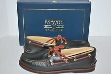 NIB SPERRY TOP-SIDER GOLD CUP A/O BLACK 9.5 10 10.5 11 LEATHER LOAFERS SHOES