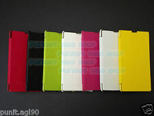 Flip Cover Case Hard Back For Nokia Lumia 520
