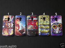 Fancy Stone (Diamond) Hard Back Cover Case For Samsung Galaxy S Duos S7562 7582