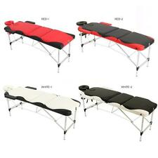 ABODY 3 Fold Portable Massage Table 84''L Portable Mixed Color Massage Bed P2V1