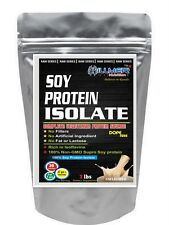 Hillmer Nutrition Soy Protein Isolate 90% 8Lbs:Raw Series Unflavored -gt12