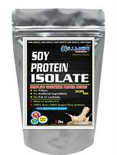 Hillmer Nutrition Soy Protein Isolate 90% 4Lbs:Raw Series Unflavored -gt2