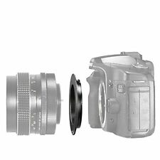 Neewer Black Metal Lens Mount Adapter for M42 Lens to Canon EOS Camera, such
