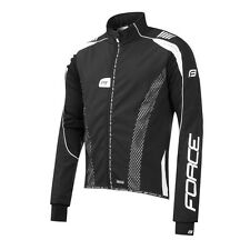 Giacca invernale ciclismo Force X72 PRO nero