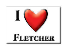 SOUVENIR USA - MISSOURI FRIDGE MAGNET I LOVE FLETCHER (JEFFERSON COUNTY)