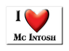 SOUVENIR USA - ALABAMA FRIDGE MAGNET I LOVE MC INTOSH (WASHINGTON COUNTY)