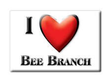 SOUVENIR USA - ARKANSAS FRIDGE MAGNET I LOVE BEE BRANCH (VAN BUREN COUNTY)