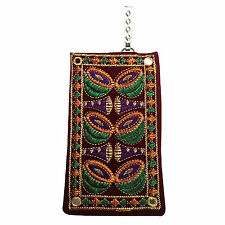 Nagara Design Traditional Look Mobile Pouch / Mini Purse with Saree Hook