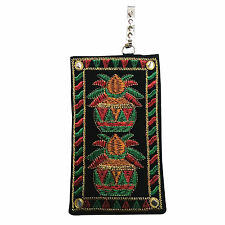 Traditional Kalash Design Mobile Pouch / Mini Purse with Saree Hook To Carry