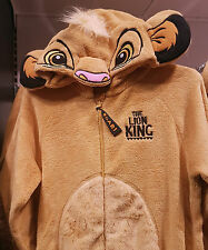 Ladies DISNEY SIMBA the LION KING Onesie All In One PJ Costume UK Size 6-20