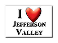 SOUVENIR USA - NEW YORK MAGNET I LOVE JEFFERSON VALLEY (WESTCHESTER COUNTY)