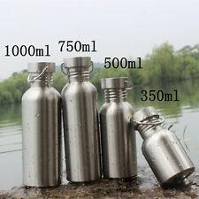 Stainless Steel Water Bottle for Travel Outdoor Yoga Camping Hiking Cycling #IN