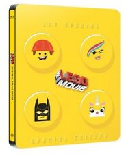The lego movie-Blu ray-lego,il film-STEELBOOK-special edition-Audio Italiano