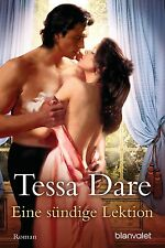 NEU * Tessa Dare* Eine sündige Lektion * shipping worldwide