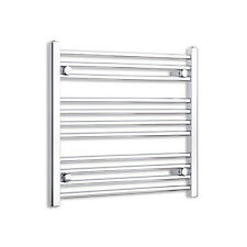 700mm Wide 600mm High Designer Chrome Heated Towel Rail Radiator Bathroom Rad