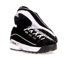 FILA HOMETOWN EXTRA  FW02752 014  BLACK WHITE  ACTIVE LIFE STYLE SHOES MEN