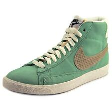 Nike Blazer Mid Prm    Round Toe Synthetic  Sneakers
