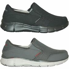 Mens Skechers EQUALIZER PERSISTENT Slip On Casual Shoes Sneakers Medium Wid