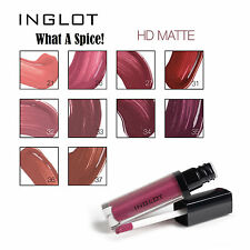 NEW * INGLOT HD Lip Tint MATTE What A Spice| Liquid Lipstick | Silky, NO SMUDGES
