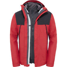 North Face 1990 Mountain Triclimate Mens Jacket - Tnf Red Dark Heather All Sizes