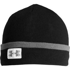 Under Armour Coldgear Infrared Cuff Sideline Mens Headwear Beanie Hat - Black