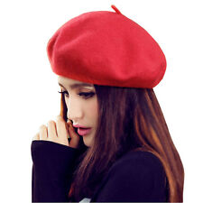 Modo Vivendi   Summer Stylish Solid Color Woolen Berets Caps and Hats For Women