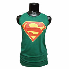 (Size-XL-Chest-42) Mens / Boys Wear Superman Sando, 100% Cotton (SKU-JB93249)