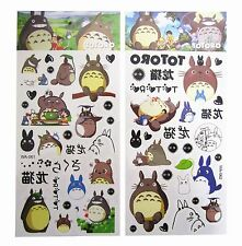Studio Ghibli My Neighbour Totoro Stickers Waterproof Temporary Tattoos Body Art