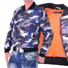 Redbridge Red Bridge Jeans by Cipo Baxx Herren Camouflage Bomberjacke blue M6030