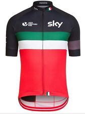 Rapha Team Sky Italy Country Cycling Jersey Size Large BNWT  *RARE*