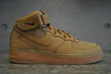 138430aae3c Nike Air Force 1 Mid Flax sz 8 715889 200 Wheat Outdoor Green ds ...