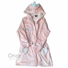 PRIMARK Ladies DISNEY PRINCESS CROWN BATH ROBE DRESSING GOWN Bathrobe