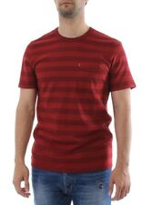 Levis T-Shirt Men SS SUNSET POCKET TEE 15798-0088 Rot