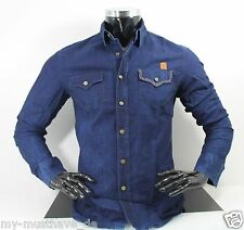Hombre Clubwear Jeans Denim Camisa vaquera Catch by Leif Nelson NUEVO